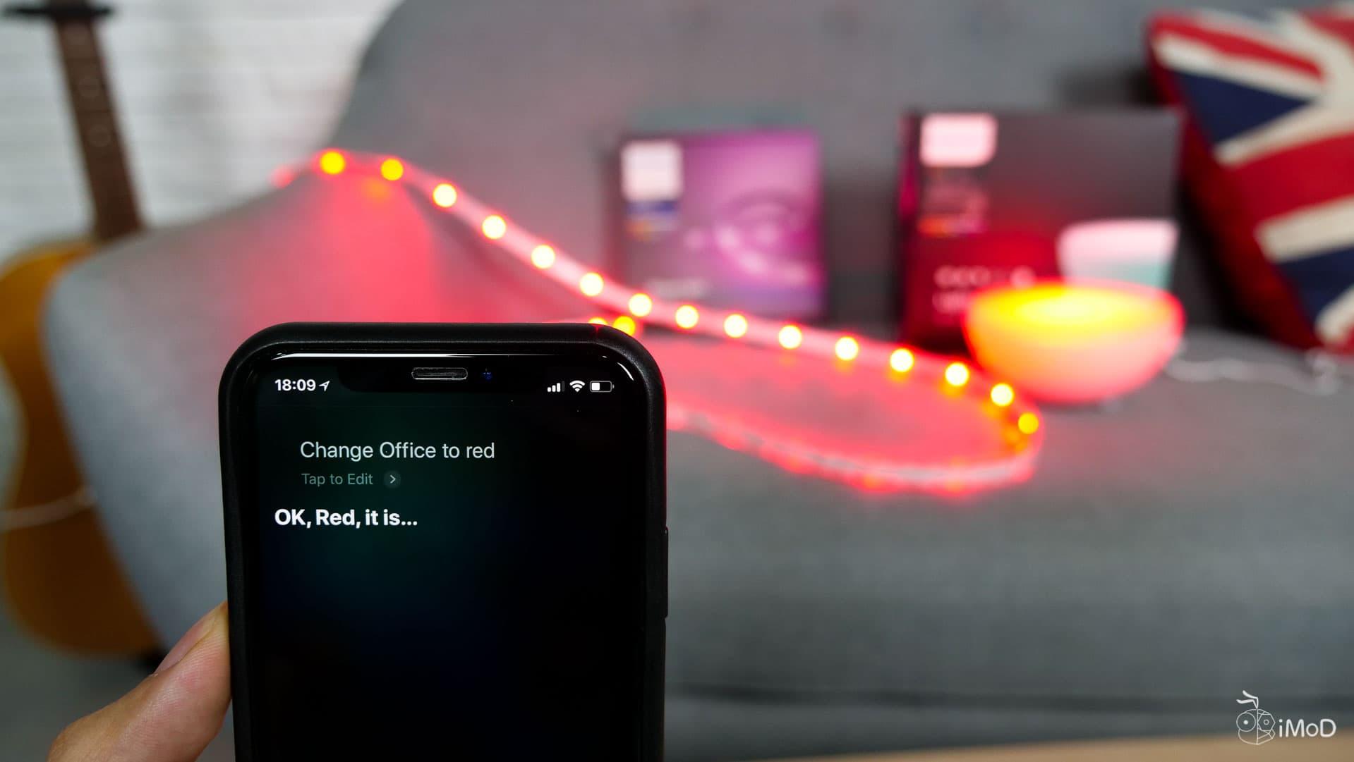 Philips Hue เพิ่มการรองรับ Siri Shortcut ของ iOS 12
