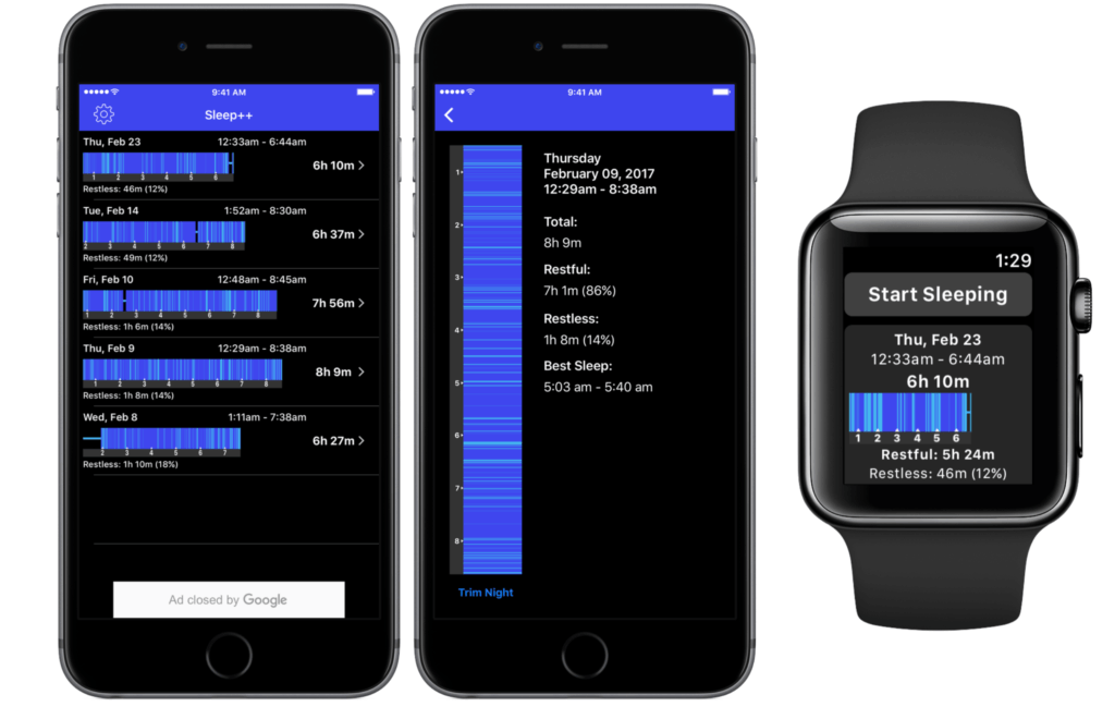 Sleep Tracking For Apple Watch 1