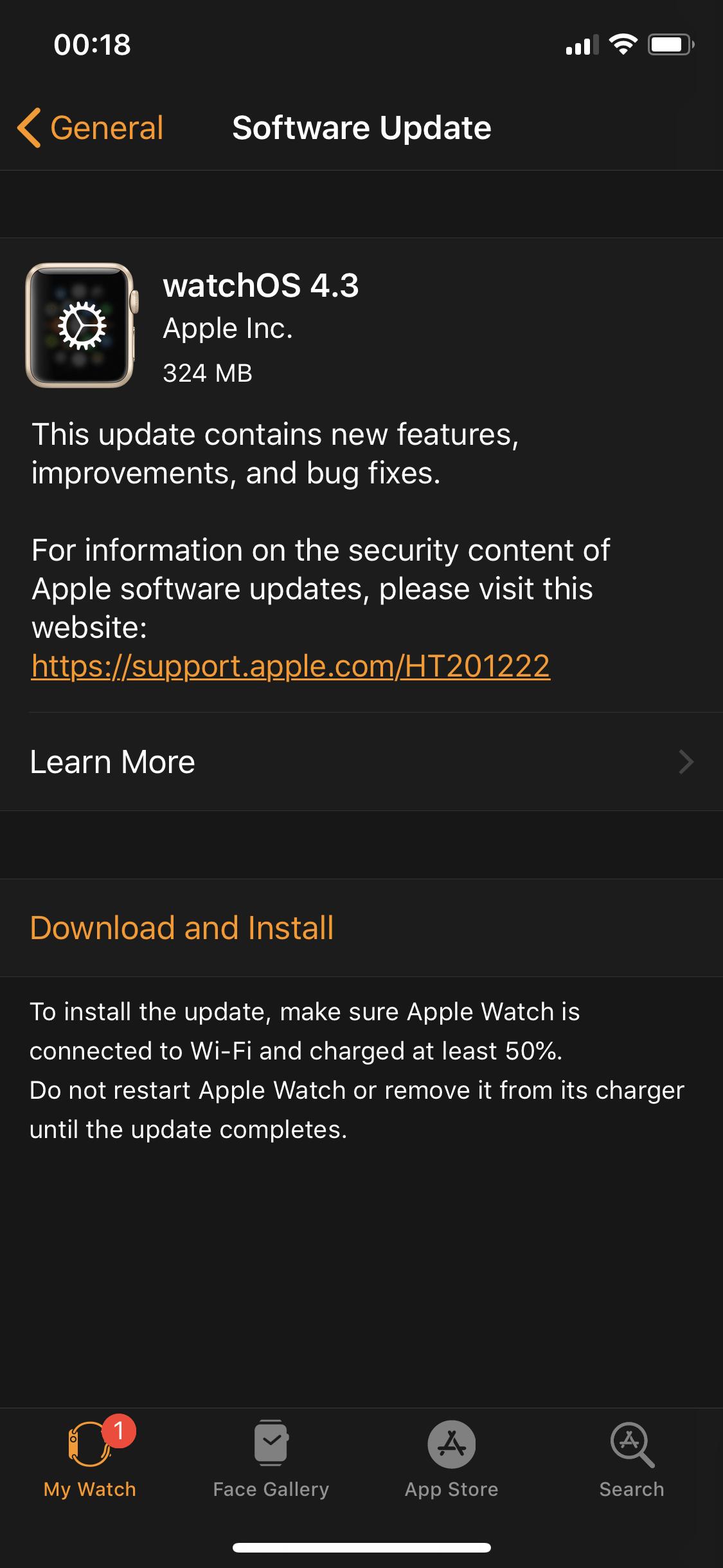 Watchos 4 3 Released 1