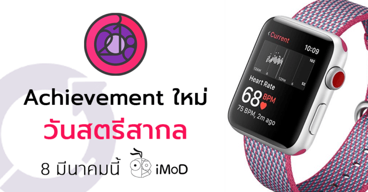 Woment International Day Apple Watch Achievement