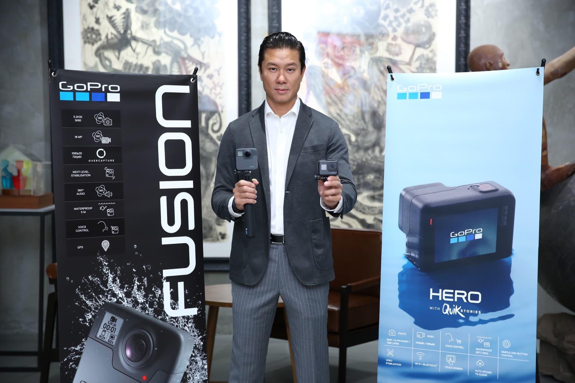 Gopro Fusion Hero Launch