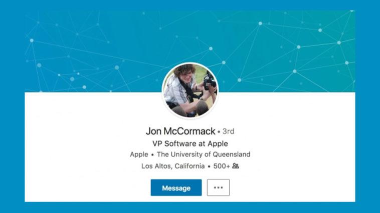 Apple Hires Jon Mccormack Vp Software