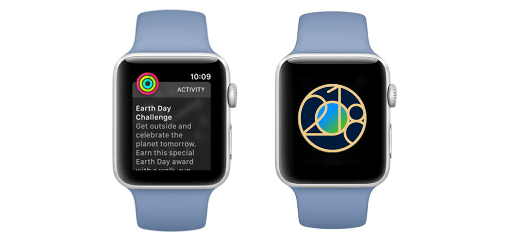 Apple Watch Earth Day Acheivement 2018 1