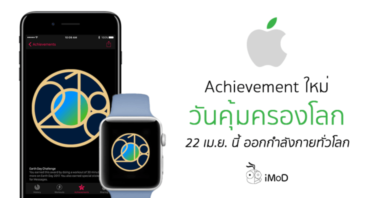 Apple Watch Earth Day Acheivement 2018