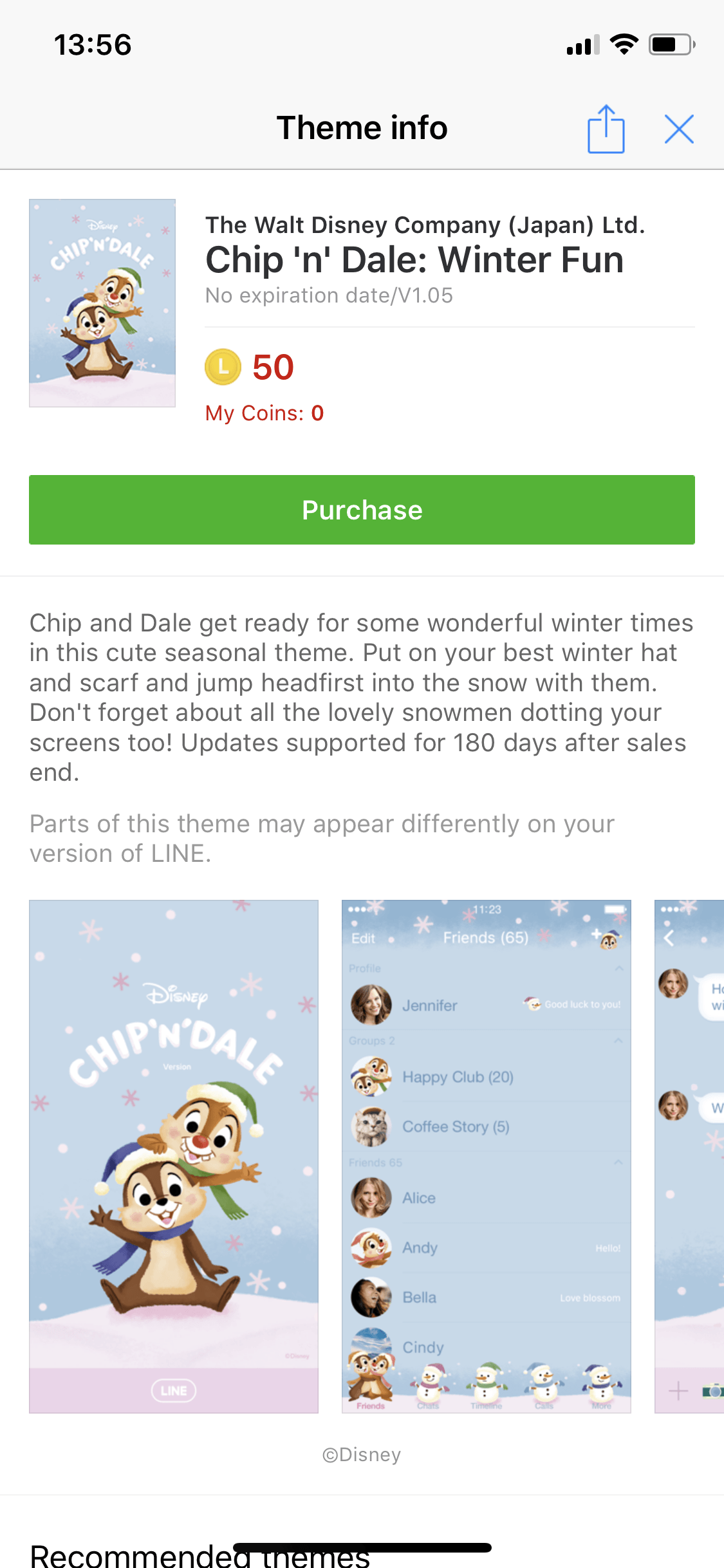 Chip And Dale Sticker Theme Line Discount 5