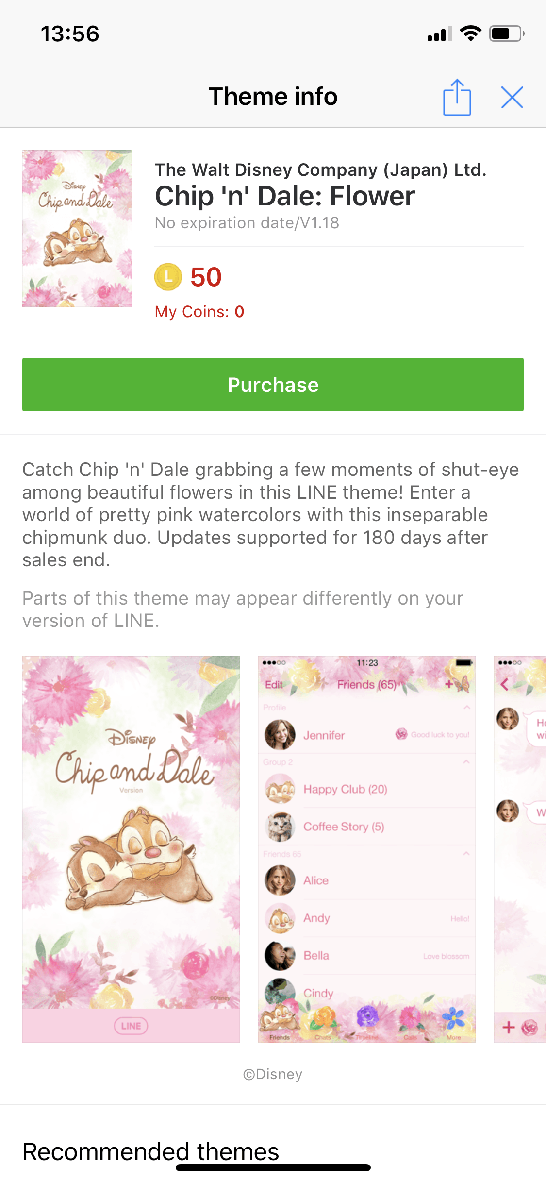 Chip And Dale Sticker Theme Line Discount 6