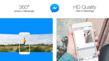 Facebook Messenger Video 360 Degree Photos