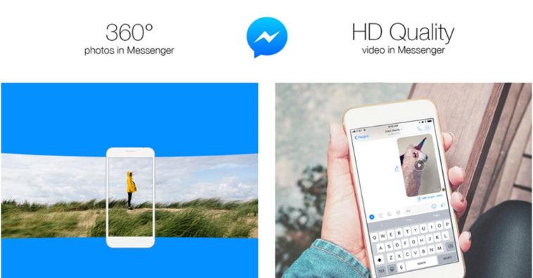 Facebook Messenger Video 360 Degree Photos