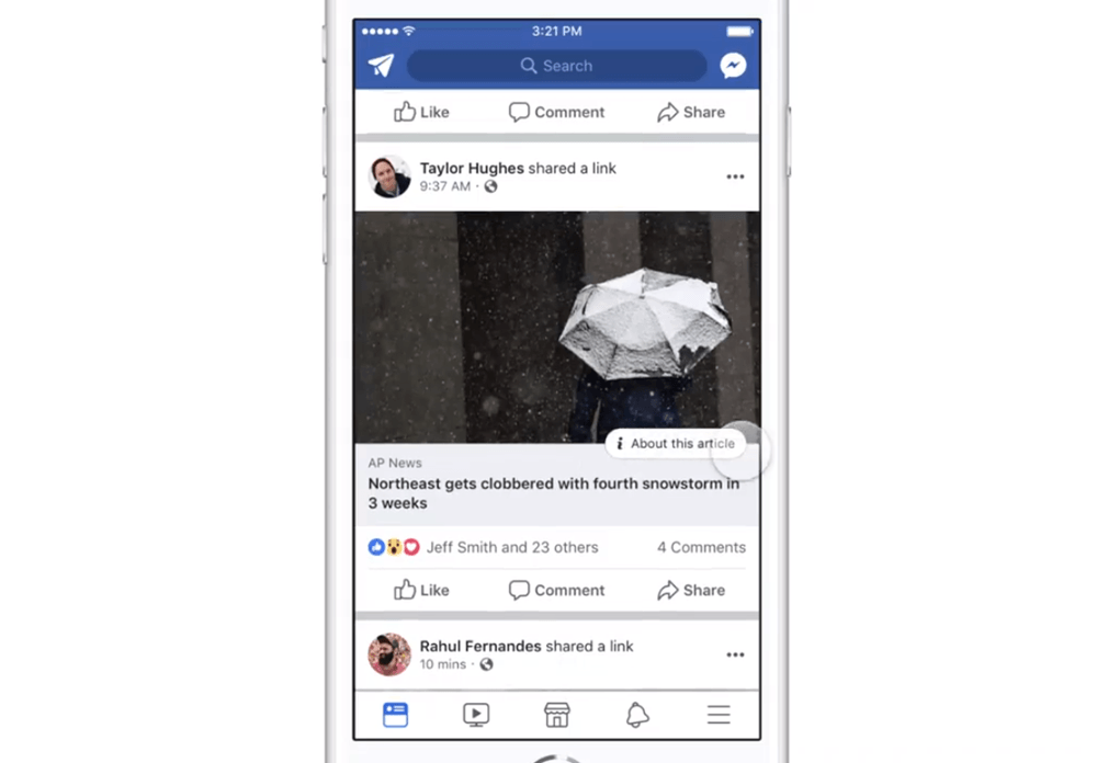 Facebook News Feed Publisher 2 1