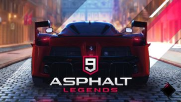 Game Asphalt 9 Legends Cover