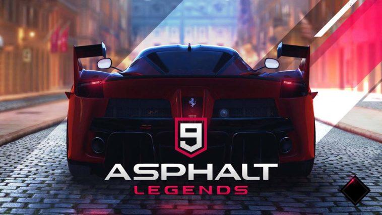 Game Asphalt 9 Legends Cover