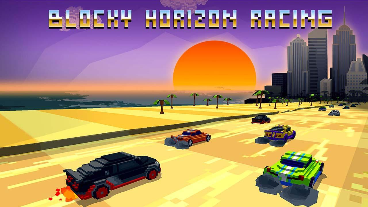 Game Horizon Blocky Racing Cover