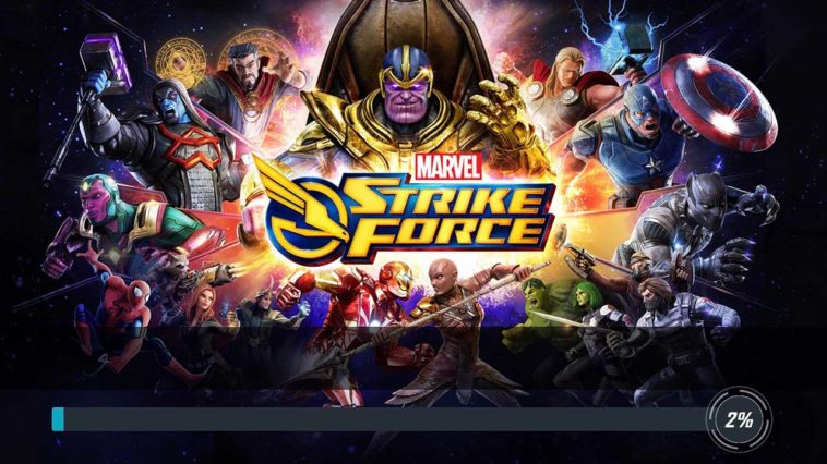 Game Marvel Strike Fource Cover