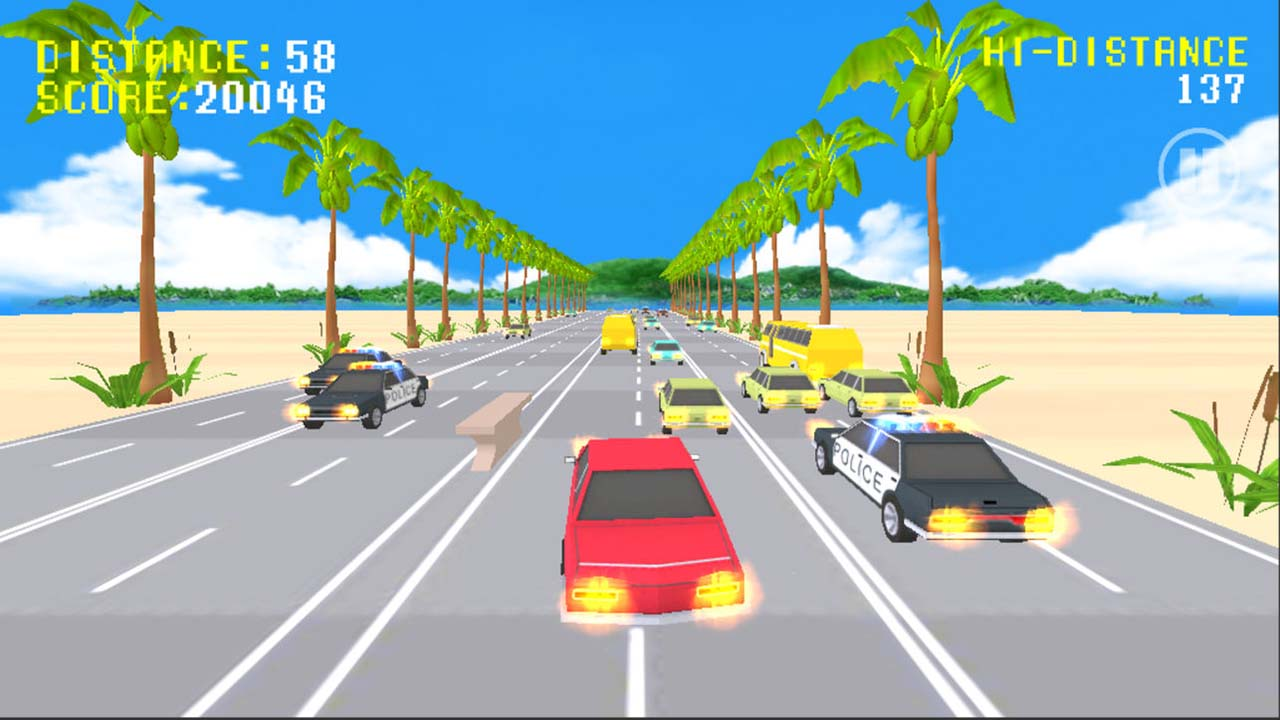 Game Pocket Cars Racing Journey 3d Cover