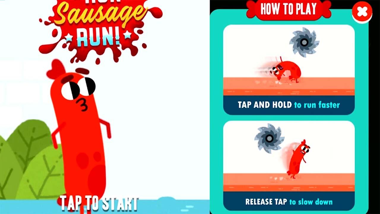 Game Run Sausage Run Howto