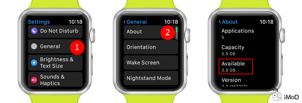 How To Check Apple Watch Storage And App Usage 4
