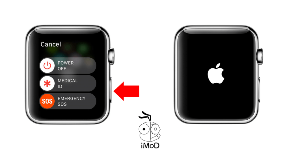 How To Restart And Force Restart Apple Watch 1