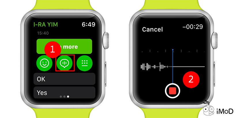 How To Use Recording Apple Watch 3