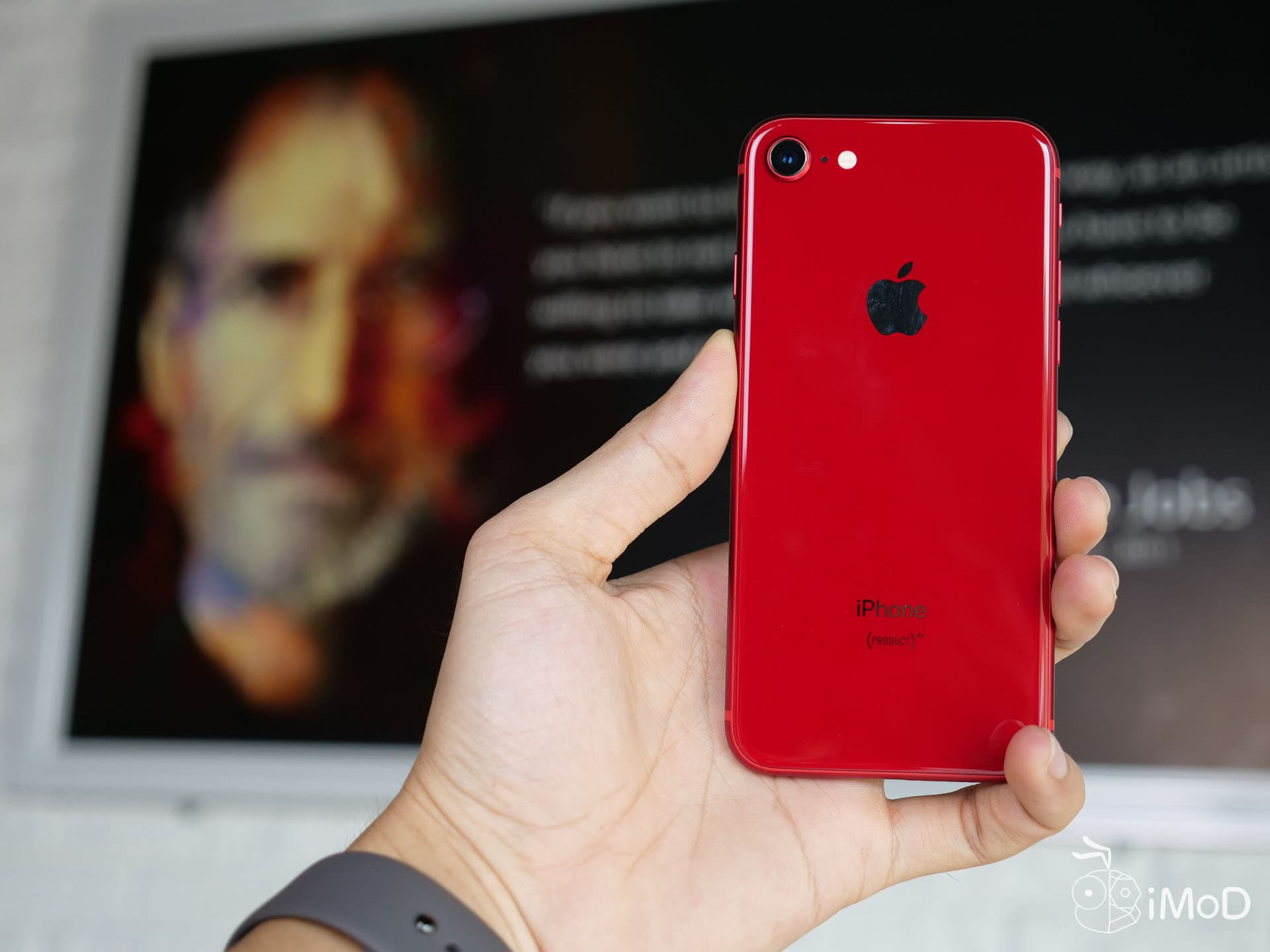 Iphone 8 Prouct Red Unbox 105