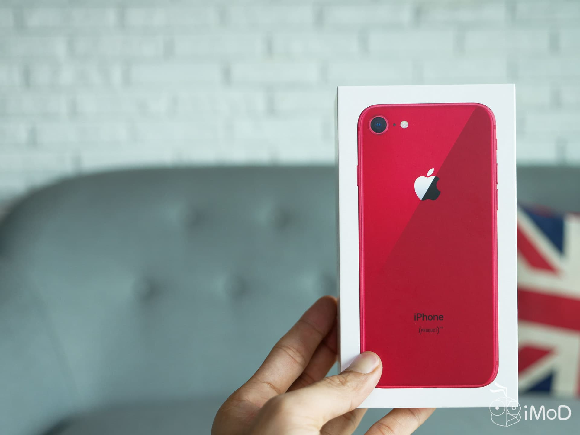 Iphone 8 Prouct Red Unbox 9