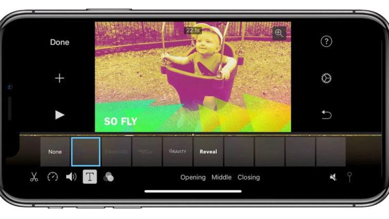 Imovie Iphone X