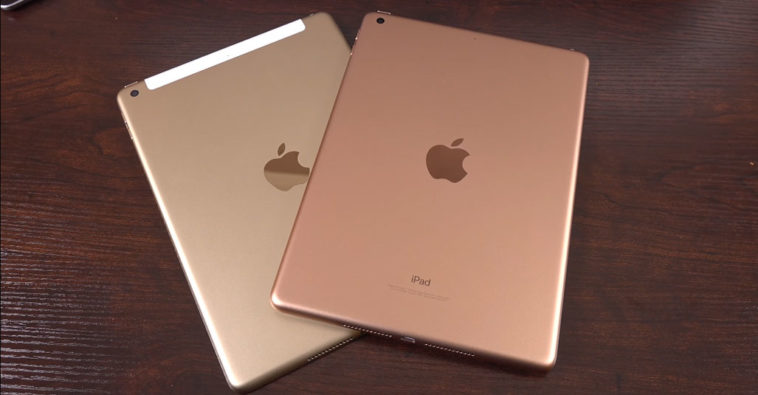 Ipad 9 7 Inch 2018 New Gold Color Cover