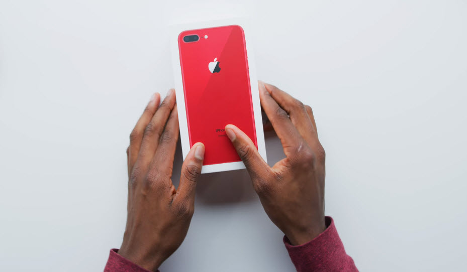 Iphone 8 Plus Red Youtuber 002