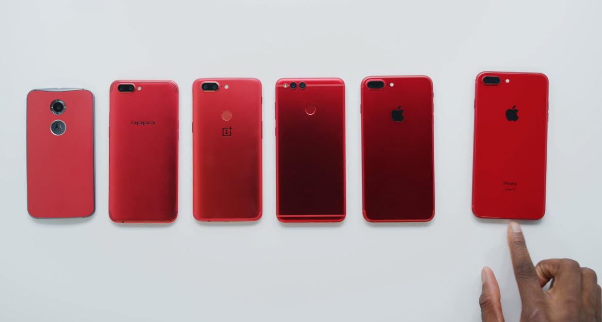 Iphone 8 Plus Red Youtuber 006