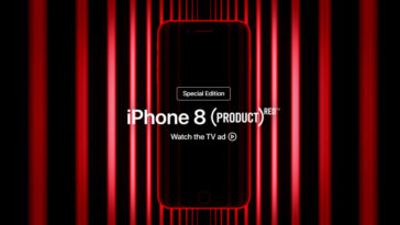 Iphone 8 Red Ad