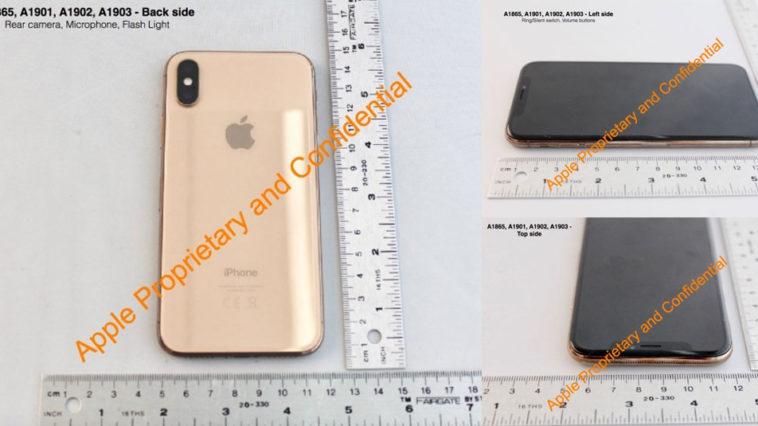 Iphone X Gold Fcc Leak Image