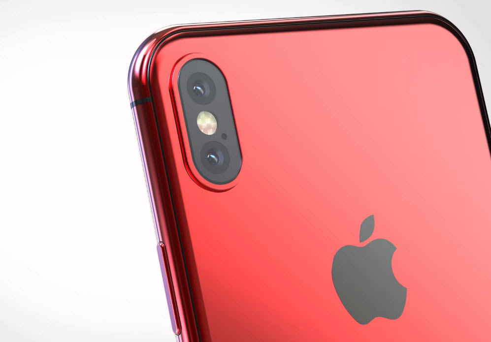 Iphone X X Plus Red Concept 005
