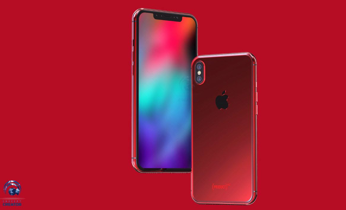 Iphone X X Plus Red Concept 012