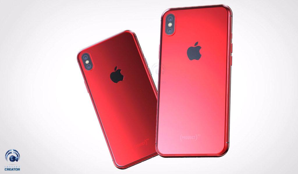 Iphone X X Plus Red Concept 014