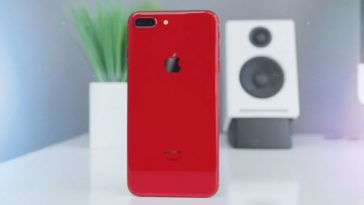 Iphone8 Plus Red Preview By Youtuber