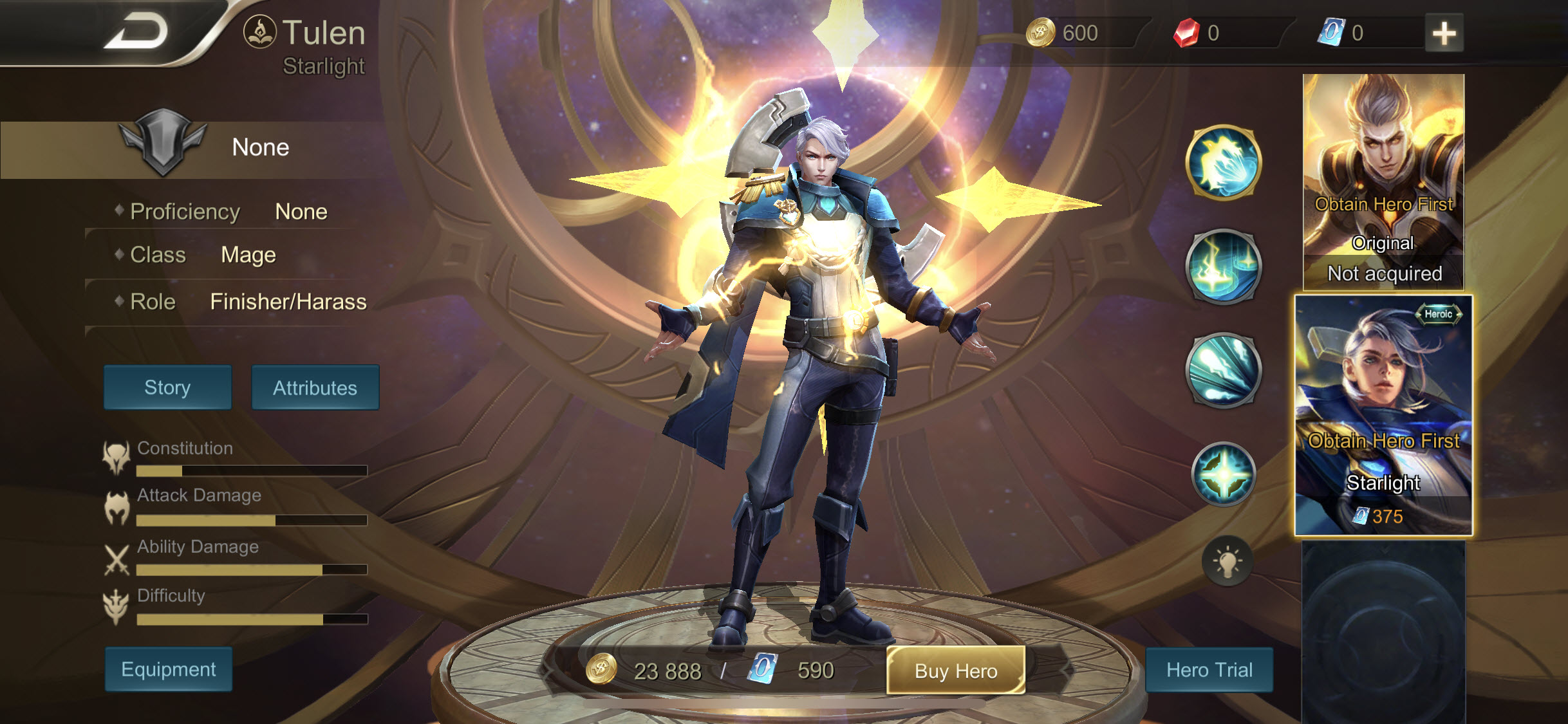 Rov Free Hero Naded Coins 023