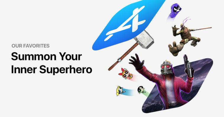 Superhero Mobile Games Cover