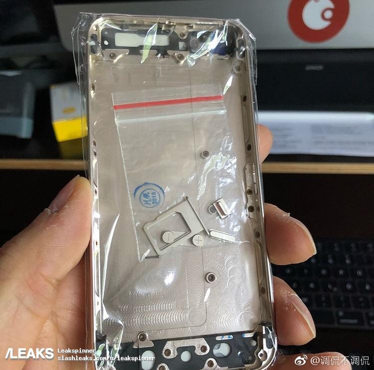 Alleged Iphone Se2 Back Panel And Ios 12 Update Leaked 2