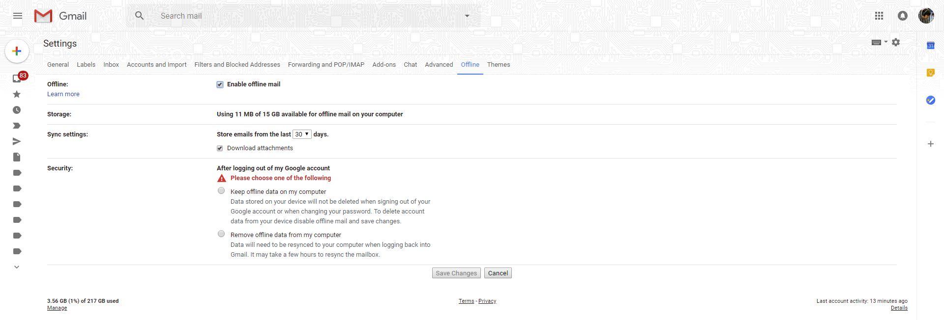 วิธีใช้งาน Gmail แบบไม่ต้องเชื่อมต่ออินเทอร์เน็ต (Offline)
