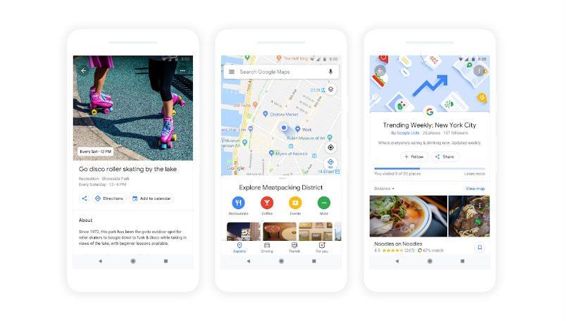 Google Maps Google Io 2018 Main