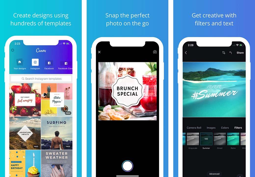 App Canva Content3