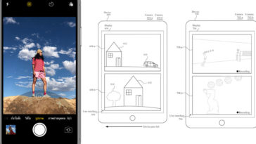 Apple Camera Dual View Patent