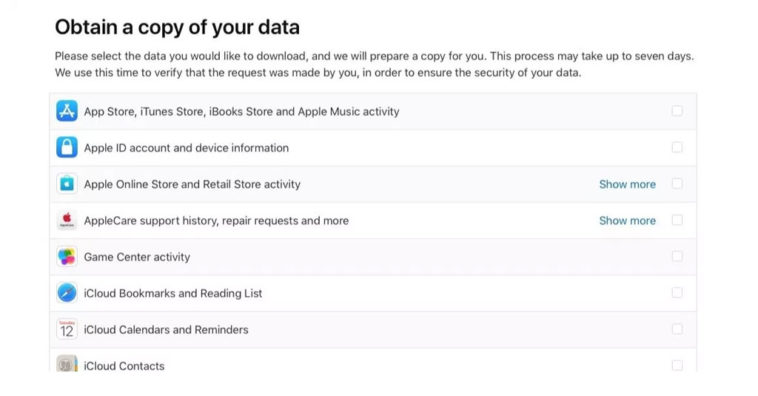 Apple Data Privacy Eu