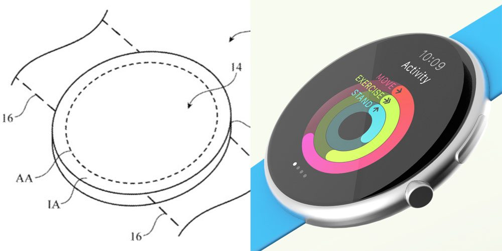 Apple Patent Circle Display Apple Watch 1