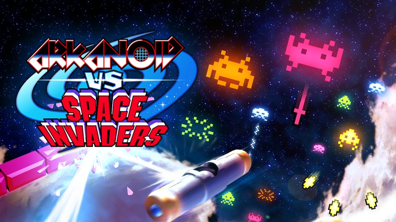 Game Arkanoid Vs Space Invaders Cover