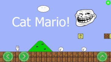 Game Cat Mario Cover