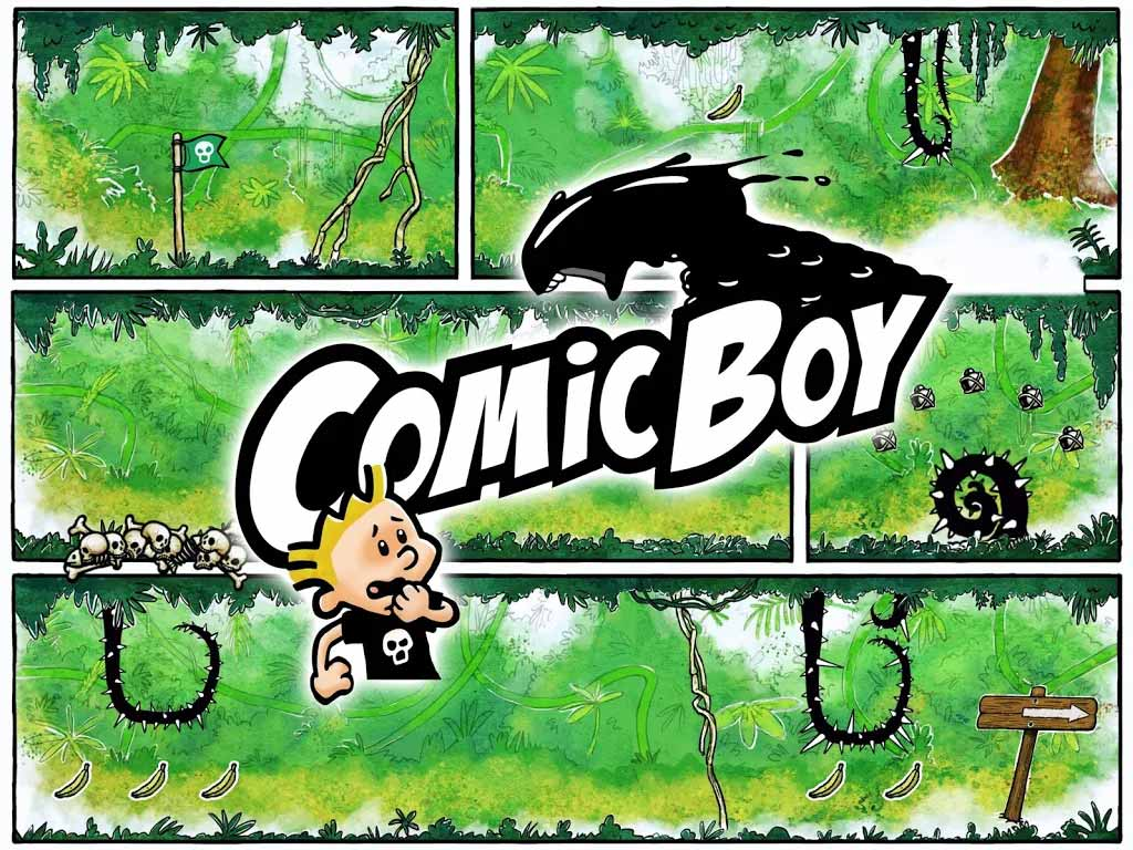 Game Comic Boy Content1