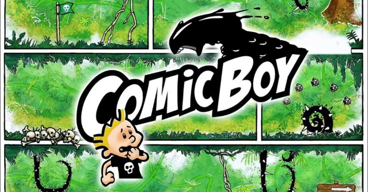 Game Comic Boy Cover