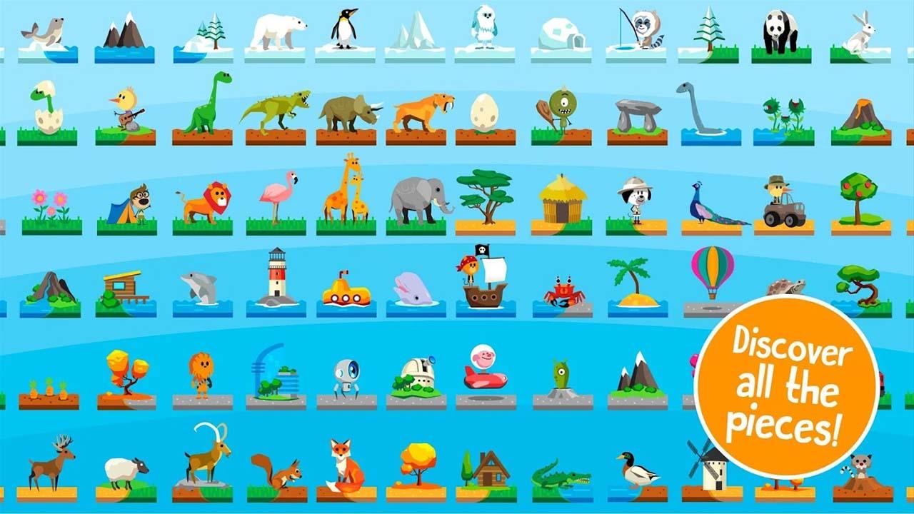 Game Comomola Planets Puzzle Content5