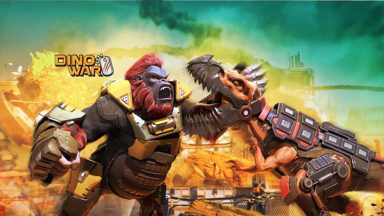 Game Dino War Survivor Cover2