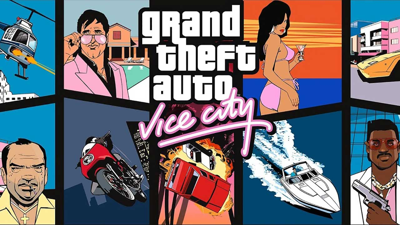 Game Gta Vice City Cover